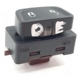 Botão Trava Porta Dianteiro Esquerdo Jeep Renegade Flex 2020